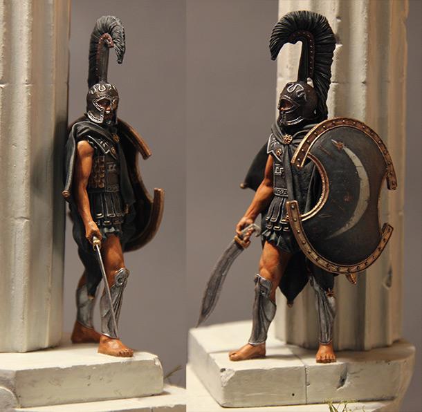 Фигурки: Воин смерти. Феспийский гоплит