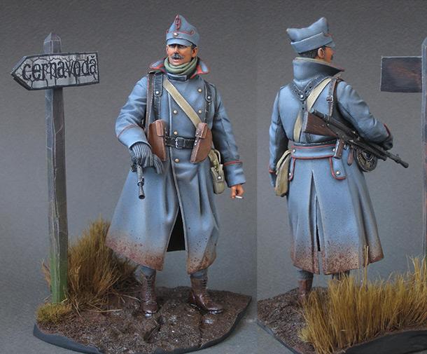 Фигурки: Румынский пулеметчик, 1916г