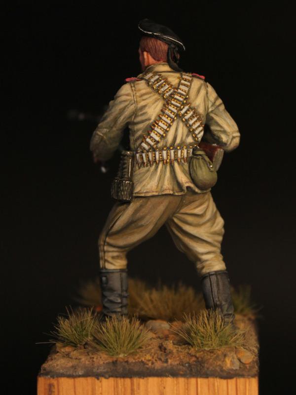 Фигурки: Пулеметчик ОБМП ЧФ, 1943-44 гг., фото #5