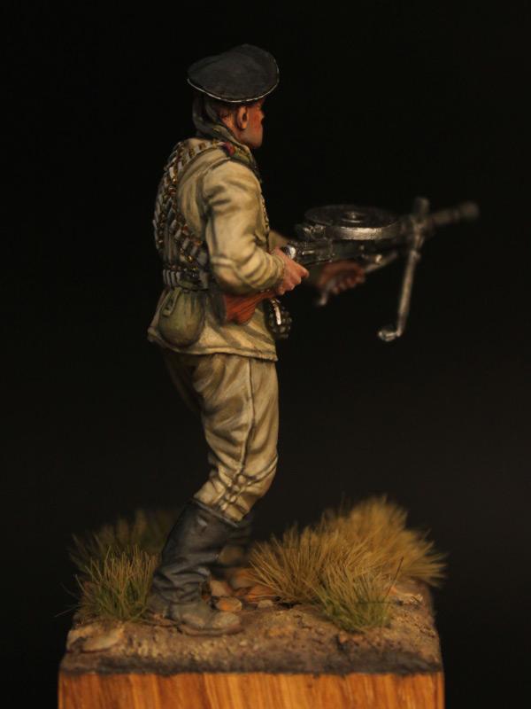 Фигурки: Пулеметчик ОБМП ЧФ, 1943-44 гг., фото #7