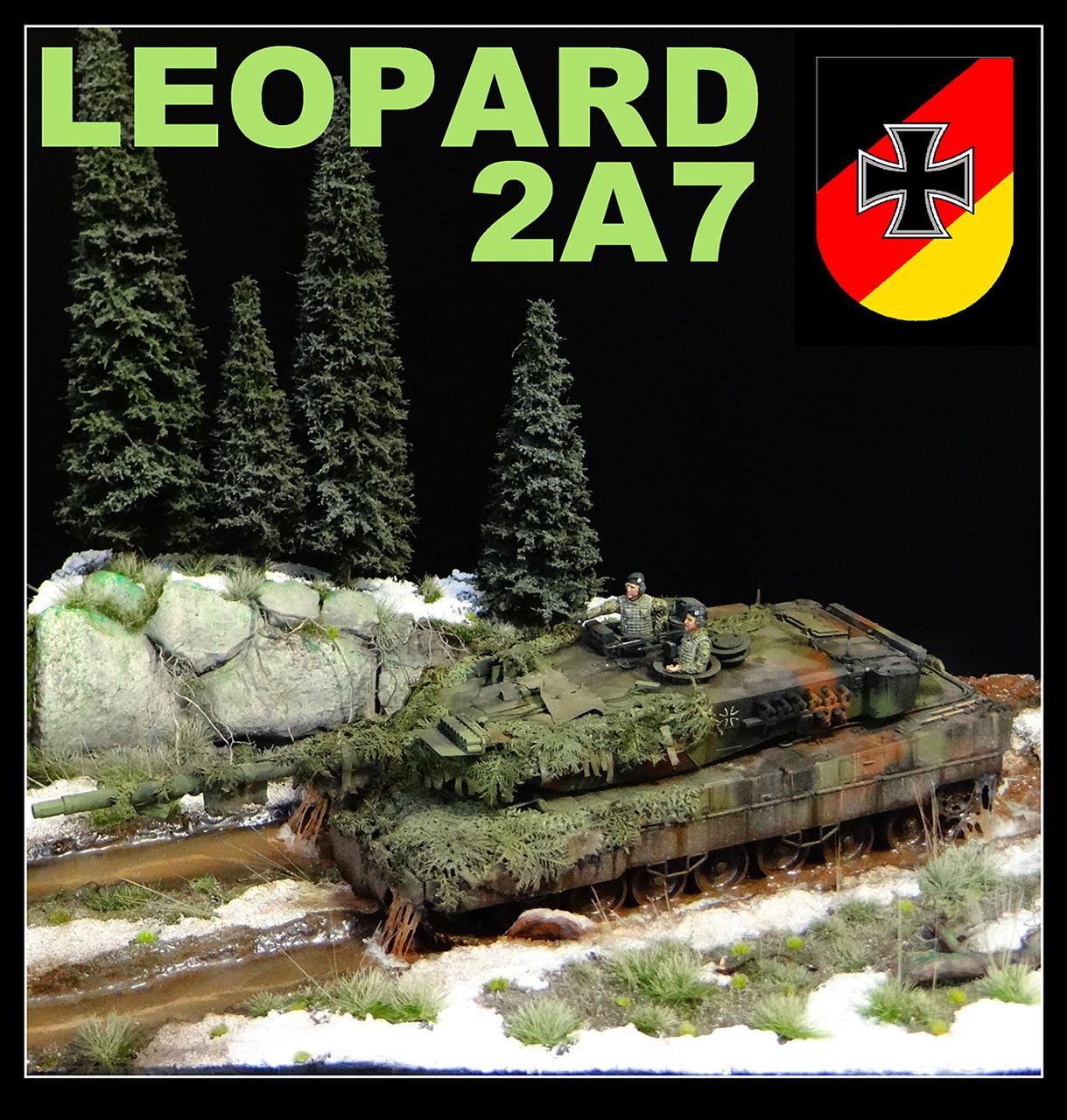 Диорамы и виньетки: Леопард, фото #1