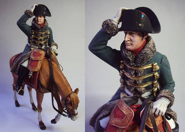 Фигурки: Бегство Наполеона