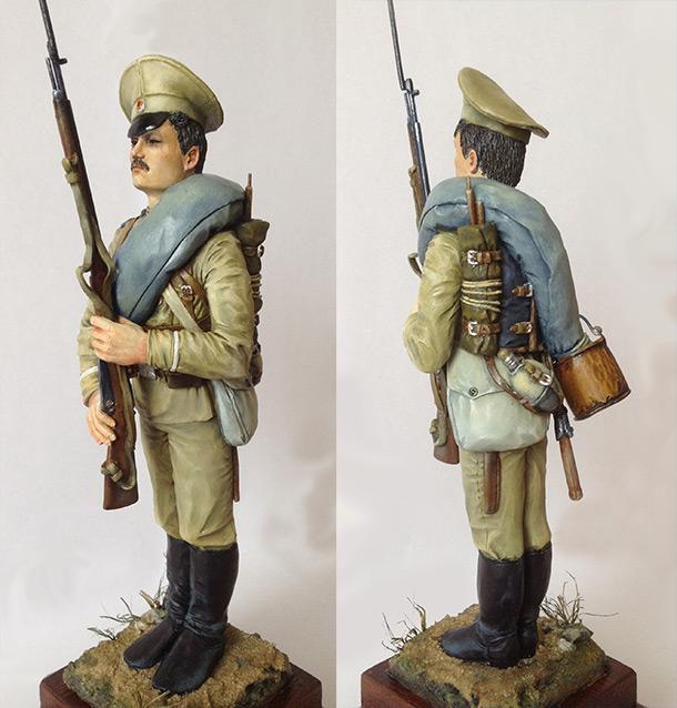Фигурки: Рядовой лейб-гвардии Семёновского полка