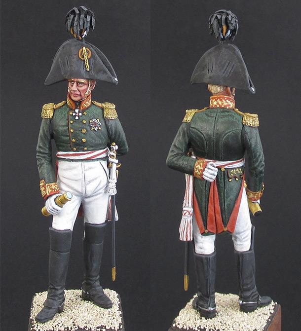 Фигурки: Русский генерал, 1812 г.