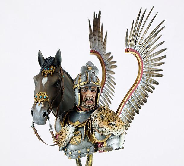Фигурки: Польский крылатый гусар, XVII в.
