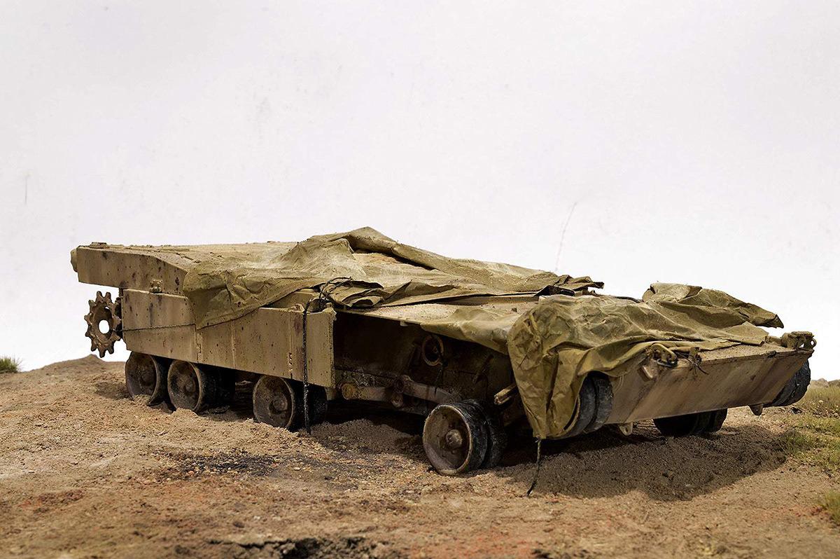 Диорамы и виньетки:  М1А2 Abrams. Башню снесло, фото #14