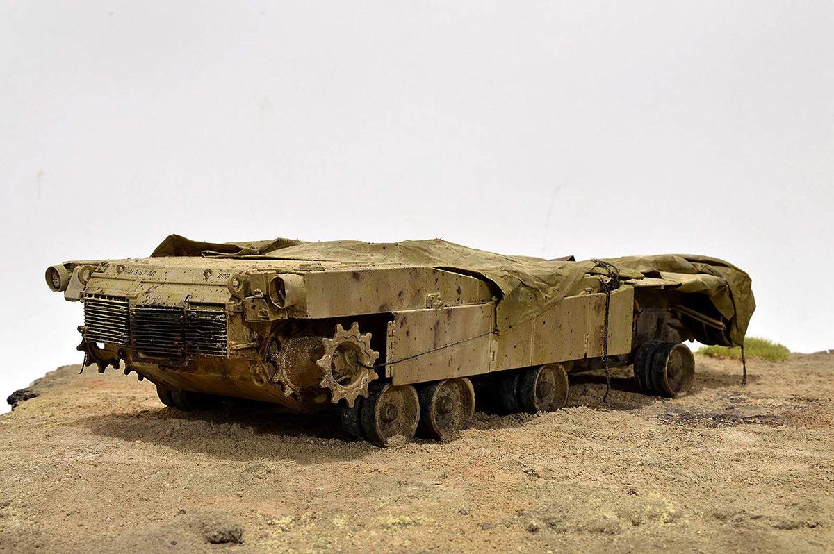 Диорамы и виньетки:  М1А2 Abrams. Башню снесло, фото #19