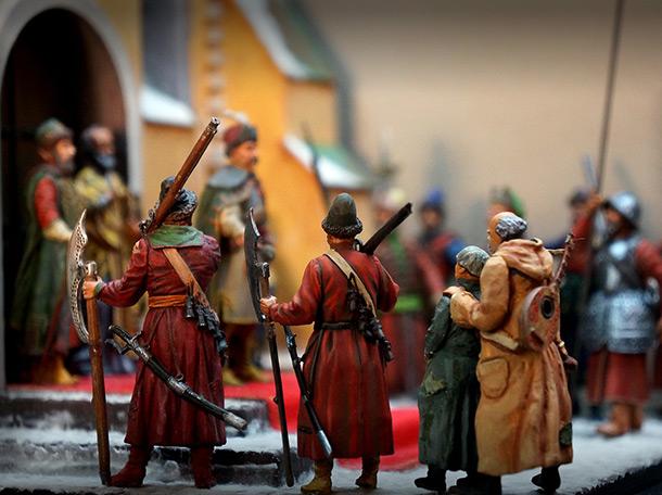 Диорамы и виньетки: Переяславская Рада