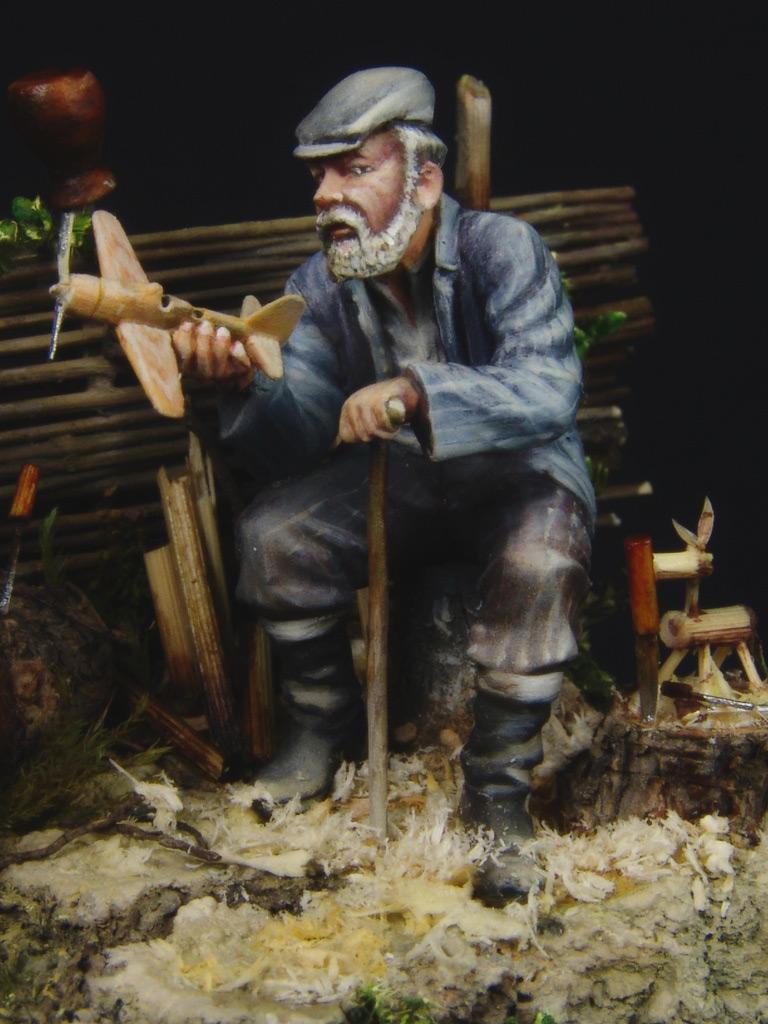 Диорамы и виньетки: Дед Щукарь., фото #4