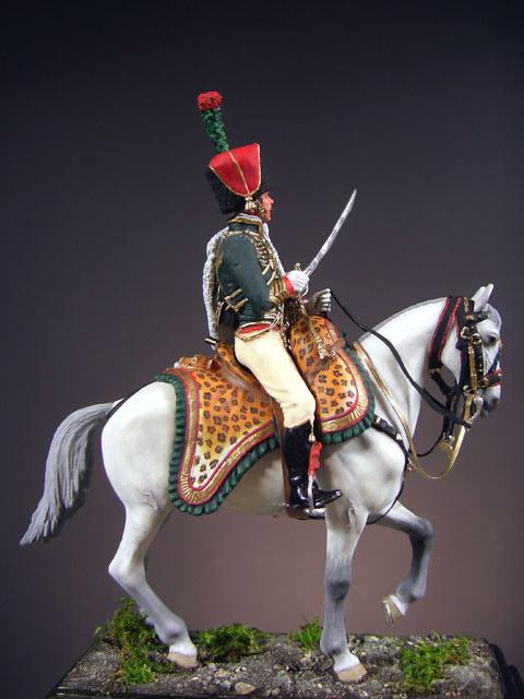 Фигурки: Офицер полка Конных егерей Императорской Гвардии, фото #1