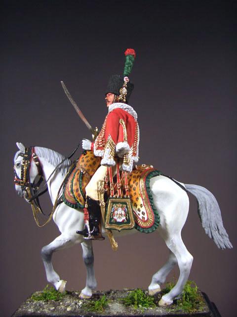 Фигурки: Офицер полка Конных егерей Императорской Гвардии, фото #2