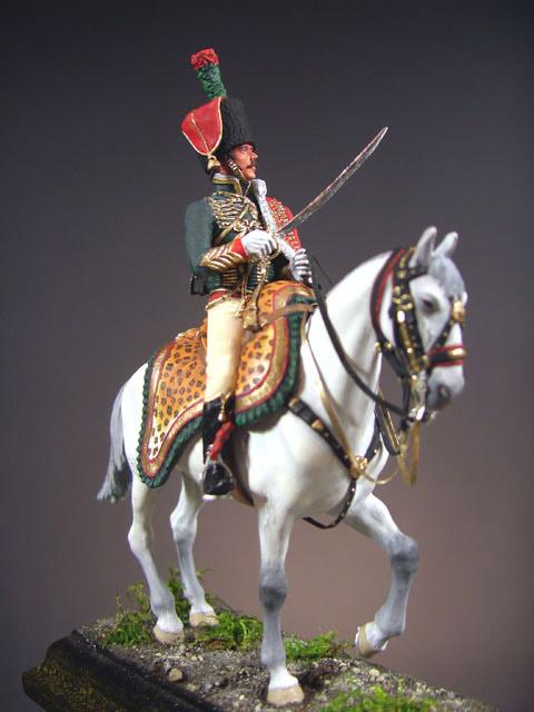 Фигурки: Офицер полка Конных егерей Императорской Гвардии, фото #3