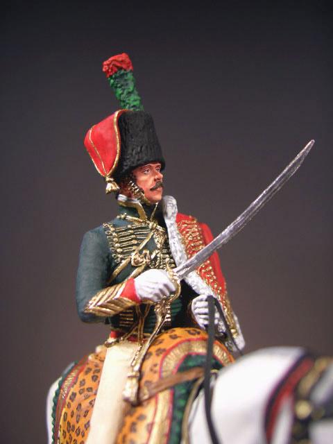 Фигурки: Офицер полка Конных егерей Императорской Гвардии, фото #4