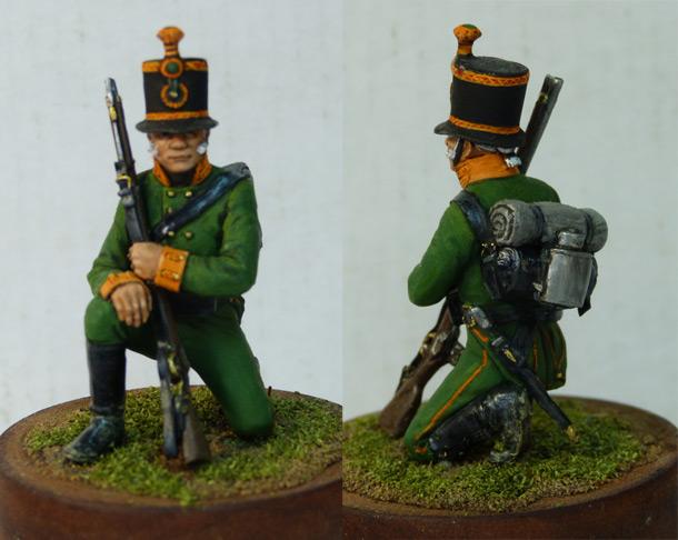 Фигурки: Рядовой Лейб-гвардии Егерского батальона, 1803-07гг.
