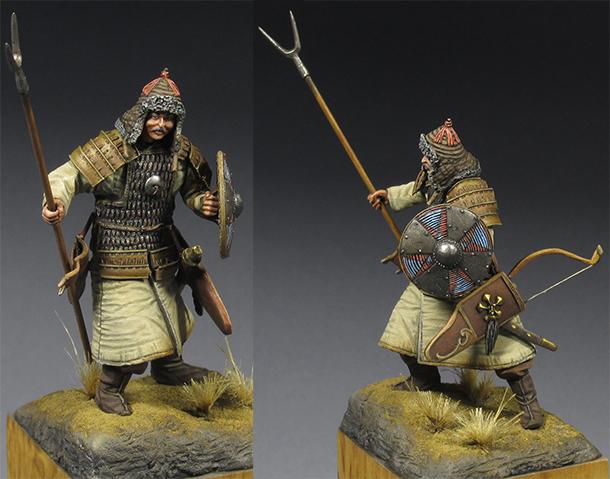 Фигурки: Киданьский воин