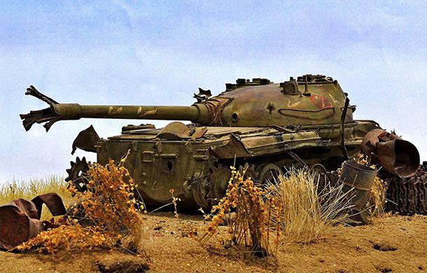 Диорамы и виньетки: Т-62. Позабыт, позаброшен...