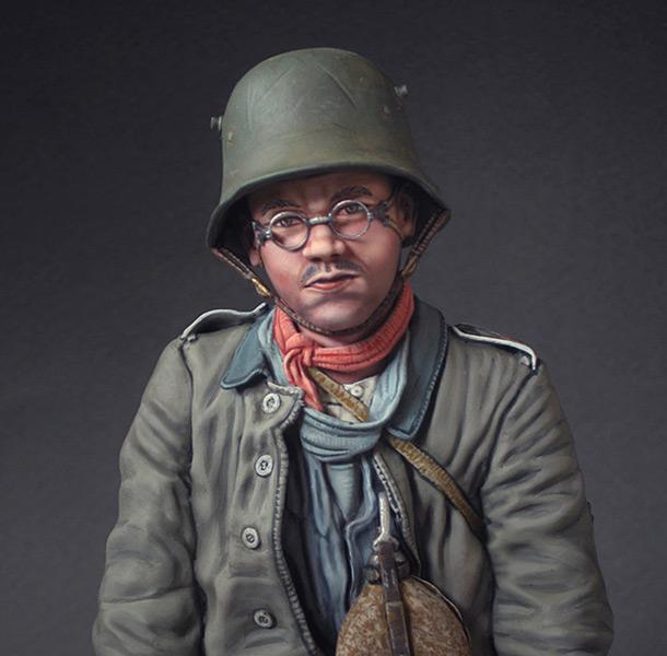 Фигурки: Германский военнопленный, 1917.