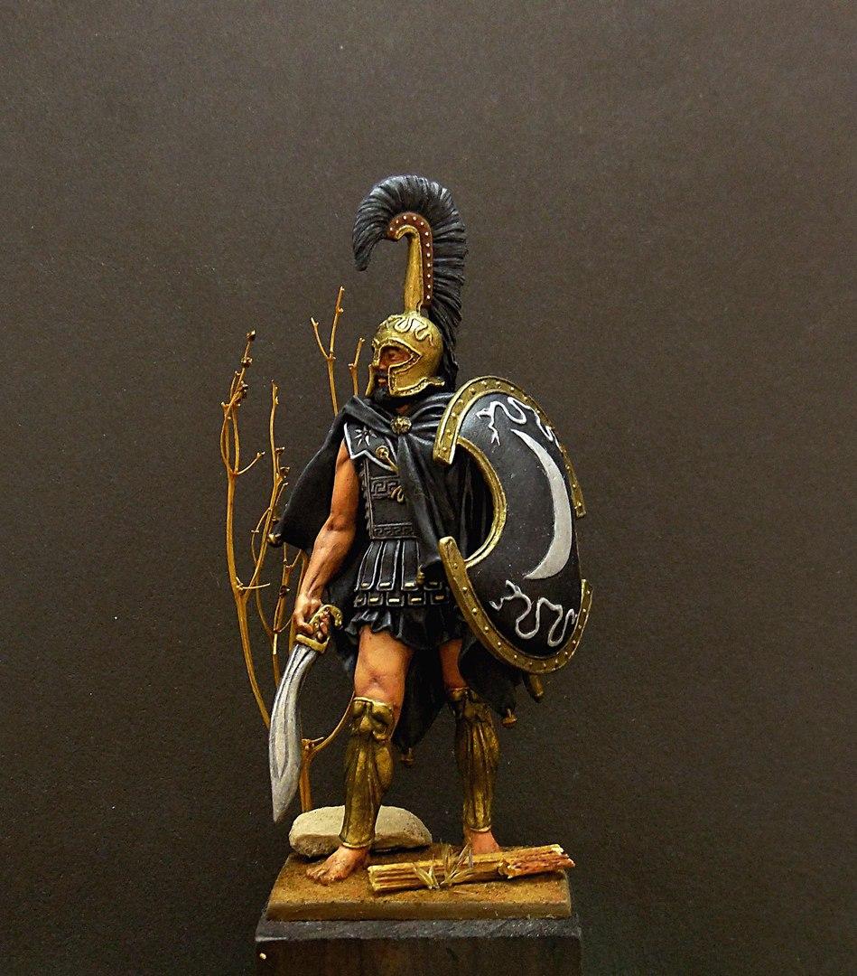 Фигурки: Феспийский гоплит, 5в. н.э. , фото #1