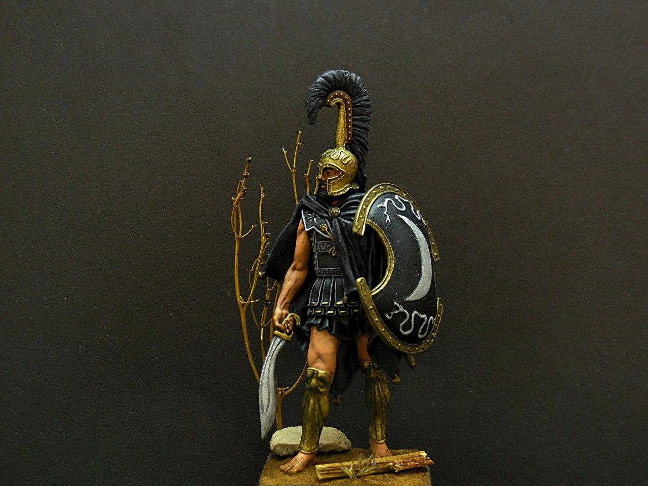 Фигурки: Феспийский гоплит, 5в. н.э. , фото #2