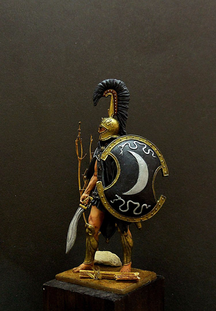 Фигурки: Феспийский гоплит, 5в. н.э. , фото #6