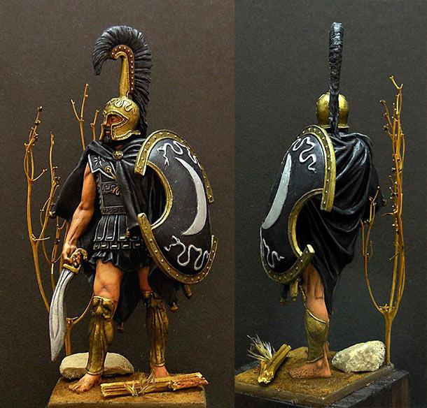 Фигурки: Феспийский гоплит, 5в. н.э.