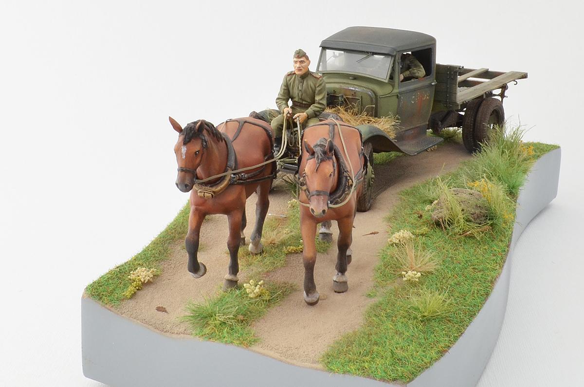Диорамы и виньетки: ГАЗ-АА: две лошадиные силы, фото #10