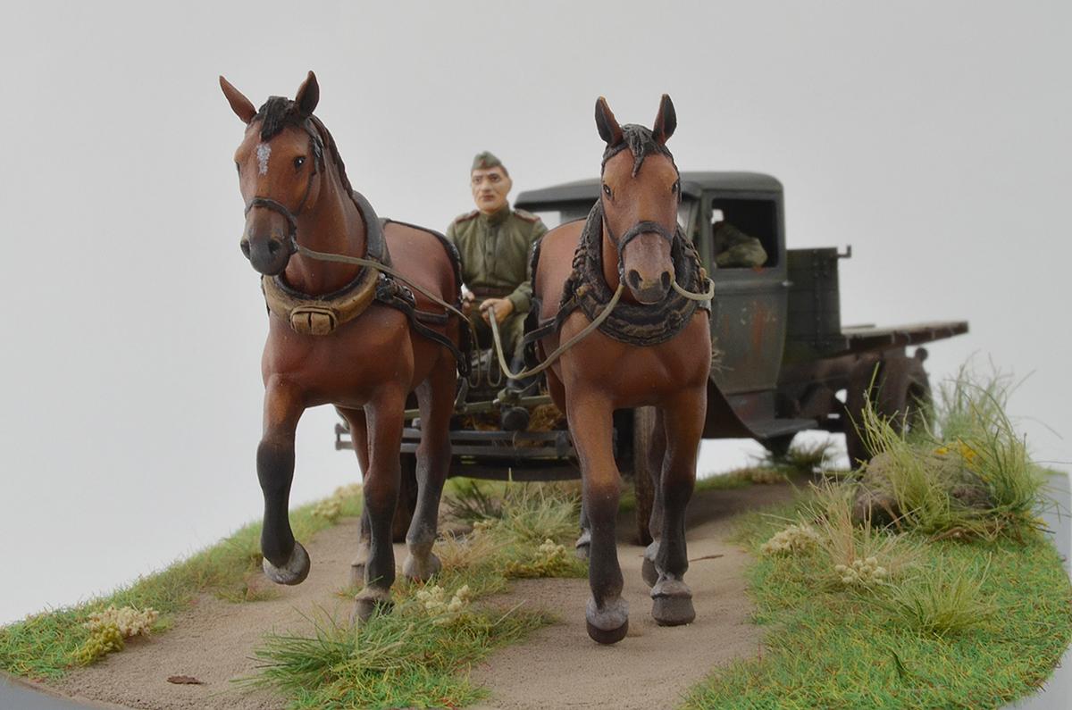 Диорамы и виньетки: ГАЗ-АА: две лошадиные силы, фото #11