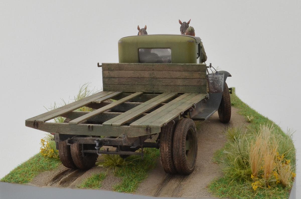 Диорамы и виньетки: ГАЗ-АА: две лошадиные силы, фото #12