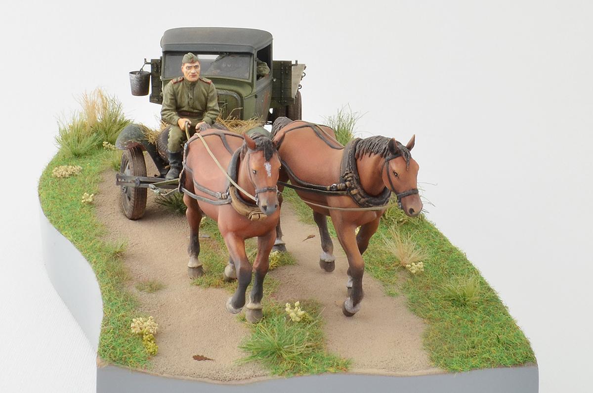 Диорамы и виньетки: ГАЗ-АА: две лошадиные силы, фото #15