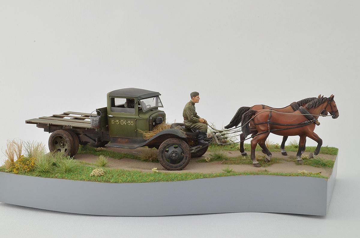 Диорамы и виньетки: ГАЗ-АА: две лошадиные силы, фото #3
