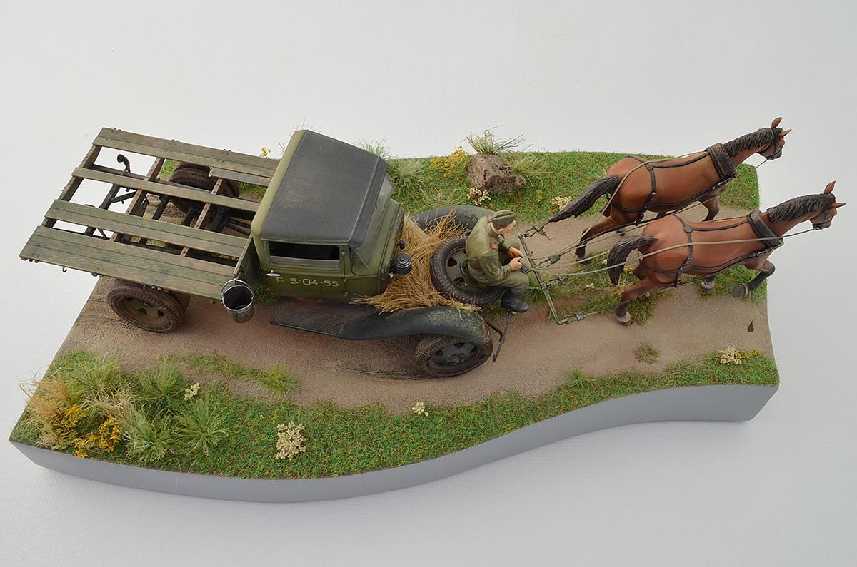 Диорамы и виньетки: ГАЗ-АА: две лошадиные силы, фото #5