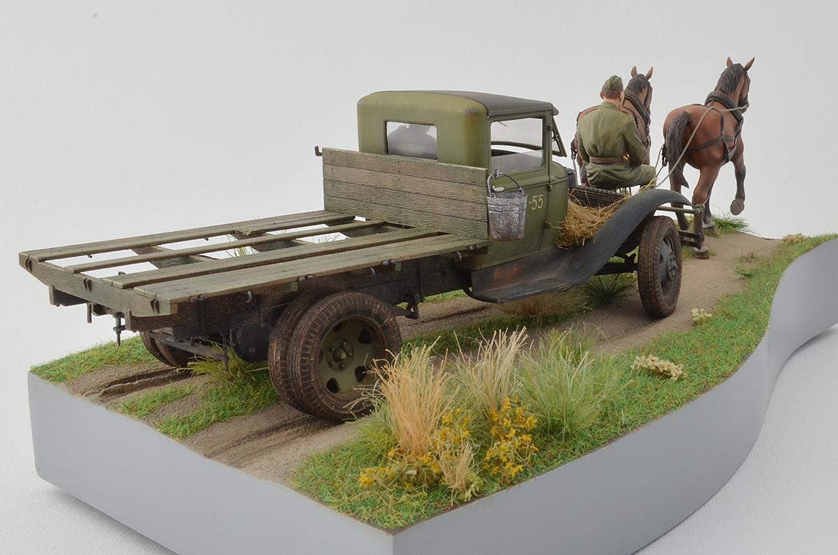 Диорамы и виньетки: ГАЗ-АА: две лошадиные силы, фото #6
