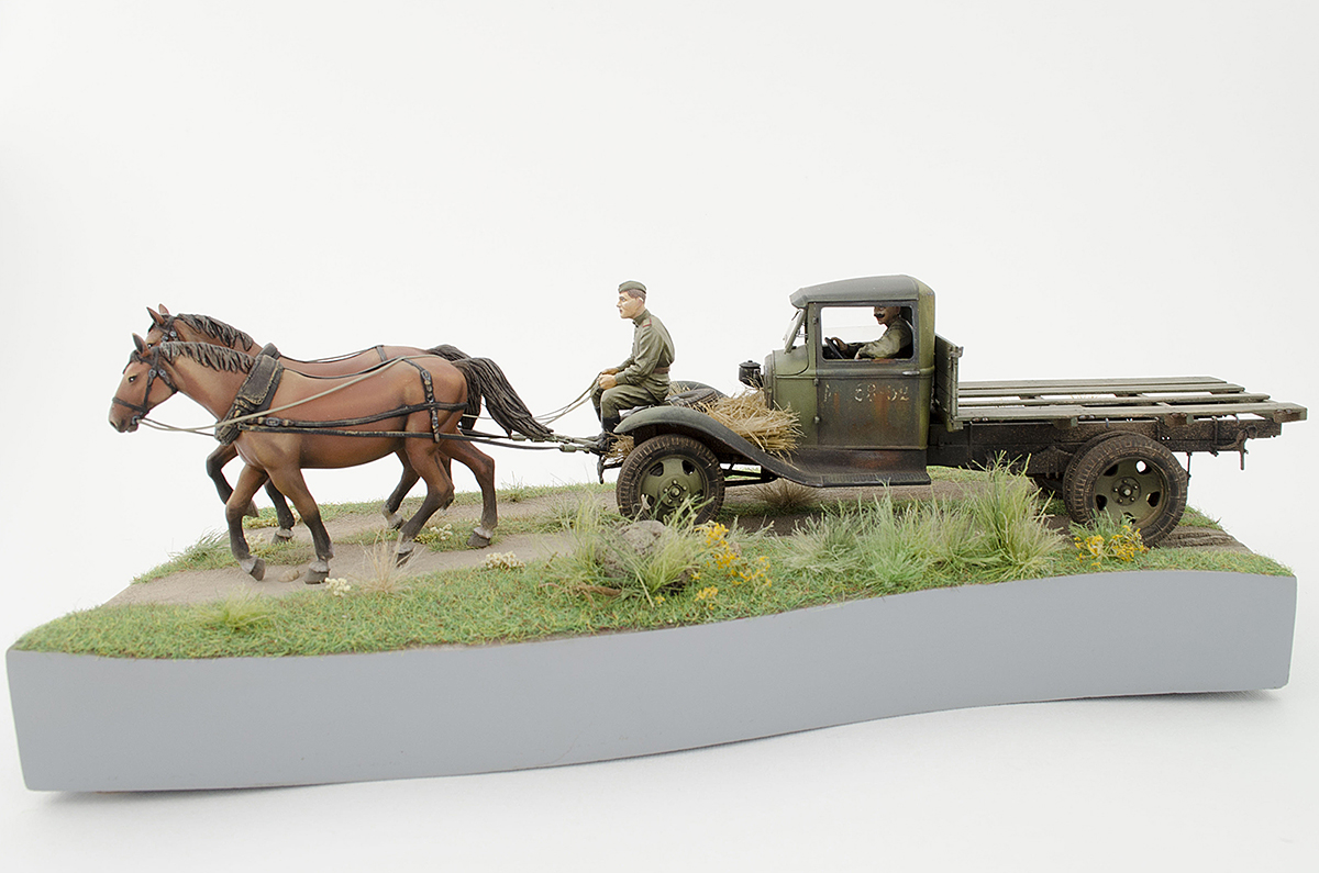 Диорамы и виньетки: ГАЗ-АА: две лошадиные силы, фото #7