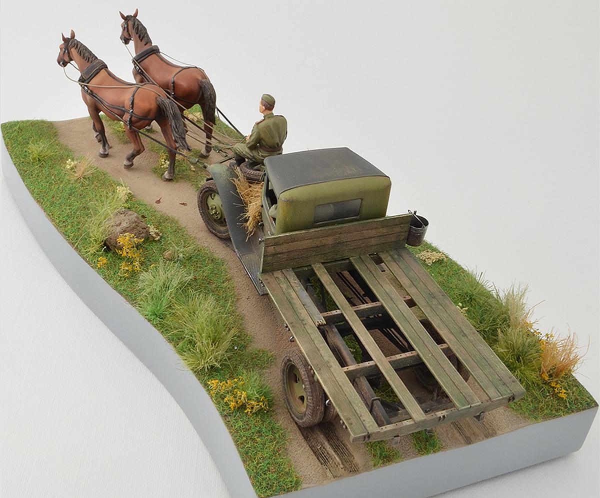 Диорамы и виньетки: ГАЗ-АА: две лошадиные силы, фото #9