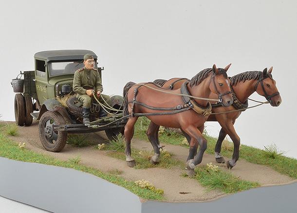 Диорамы и виньетки: ГАЗ-АА: две лошадиные силы