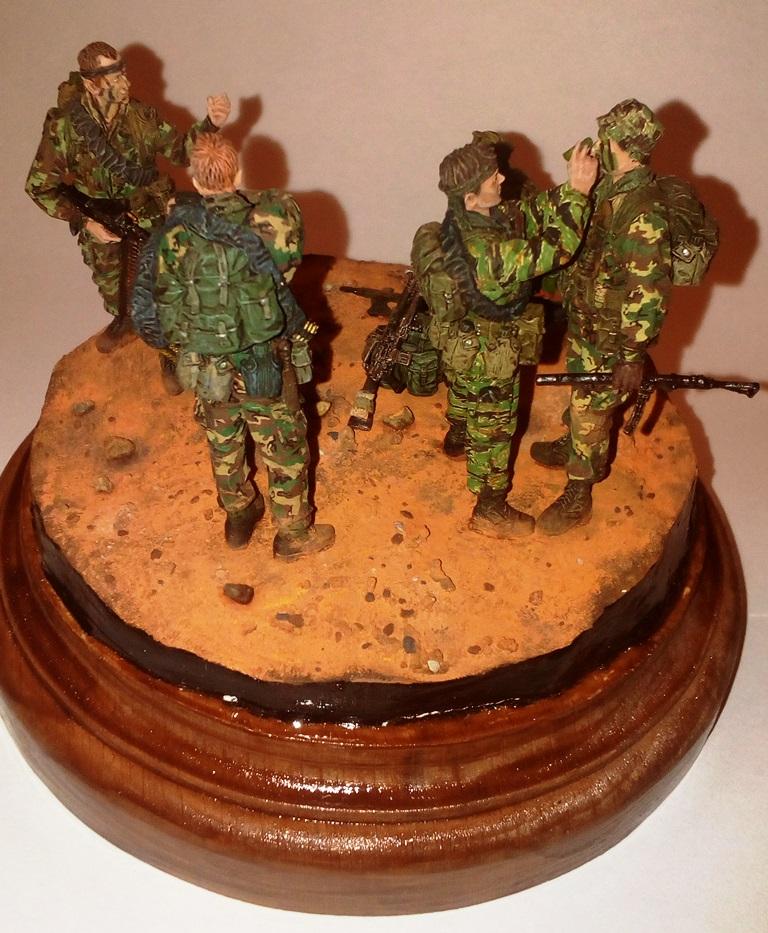 Диорамы и виньетки: Австралийский SAS, фото #3
