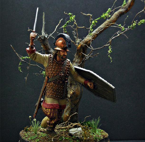 Фигурки: Галл в атаке 1 в до н.э.