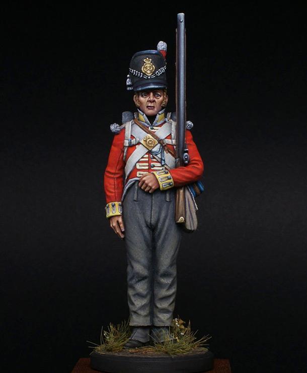 Фигурки:  Рядовой 44-го Восточно-Эссекского полка