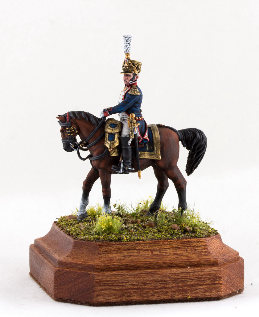 Фигурки: Шеф батальона 4-го полка лин. пехоты. Франция, 1808-13 гг., фото #1