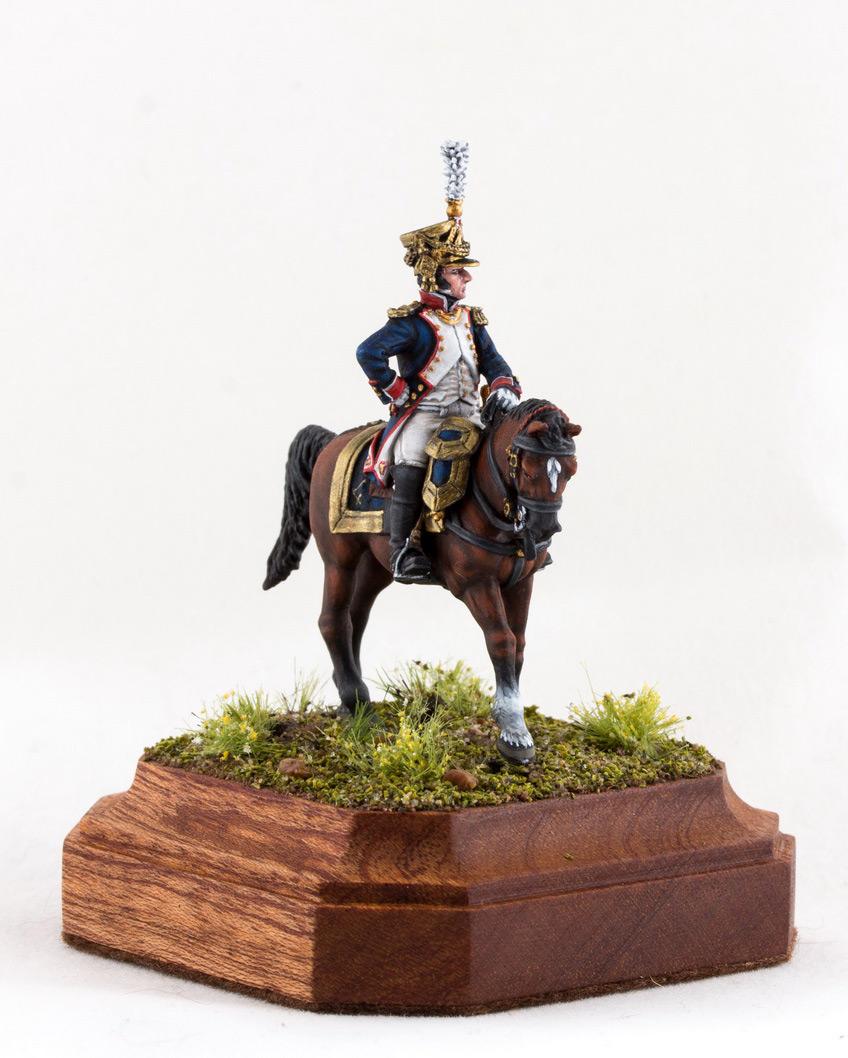 Фигурки: Шеф батальона 4-го полка лин. пехоты. Франция, 1808-13 гг., фото #11