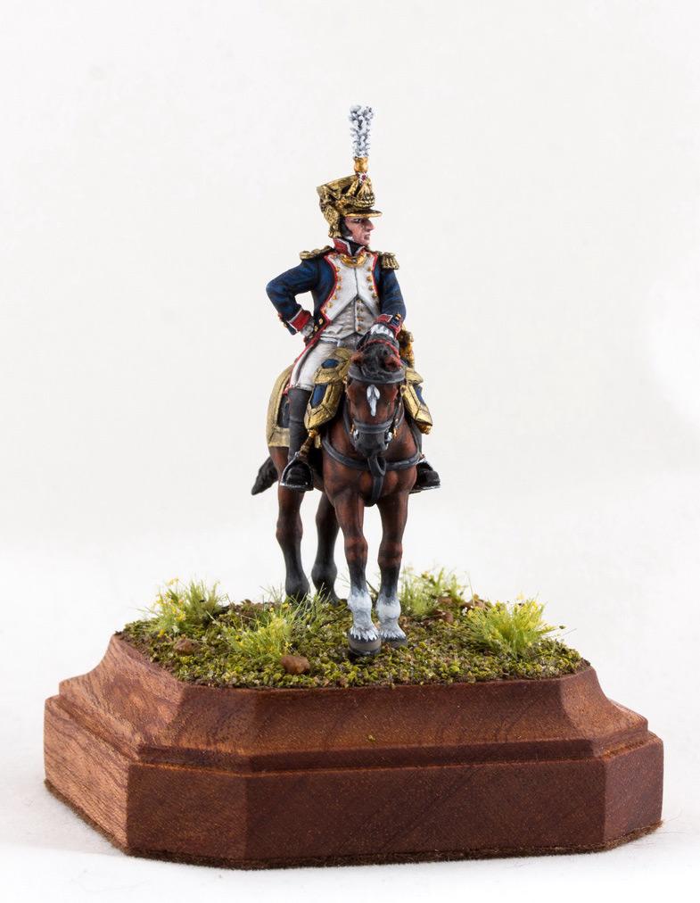 Фигурки: Шеф батальона 4-го полка лин. пехоты. Франция, 1808-13 гг., фото #12