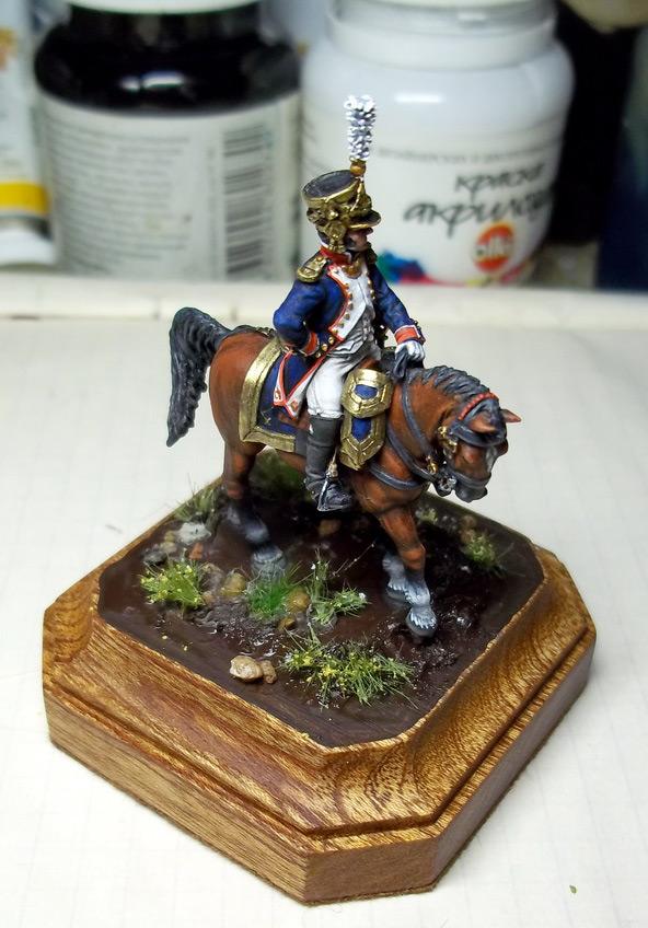 Фигурки: Шеф батальона 4-го полка лин. пехоты. Франция, 1808-13 гг., фото #13