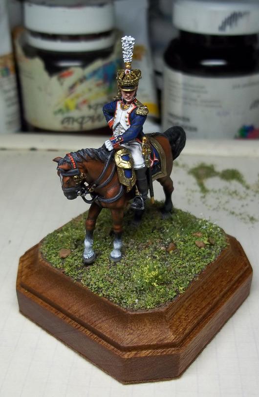Фигурки: Шеф батальона 4-го полка лин. пехоты. Франция, 1808-13 гг., фото #14