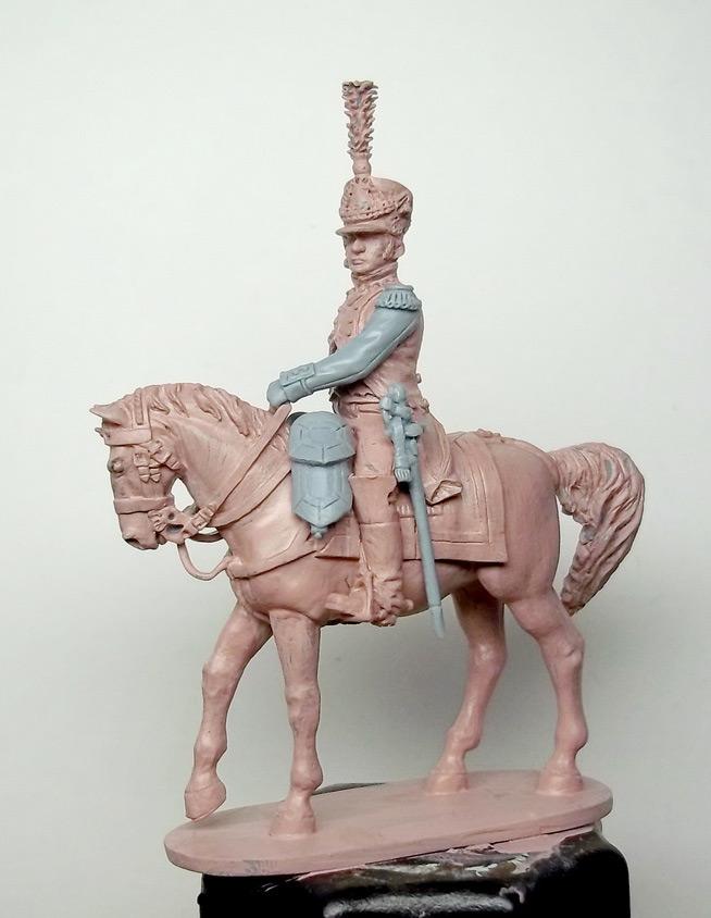 Фигурки: Шеф батальона 4-го полка лин. пехоты. Франция, 1808-13 гг., фото #15