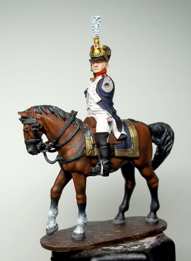 Фигурки: Шеф батальона 4-го полка лин. пехоты. Франция, 1808-13 гг., фото #16