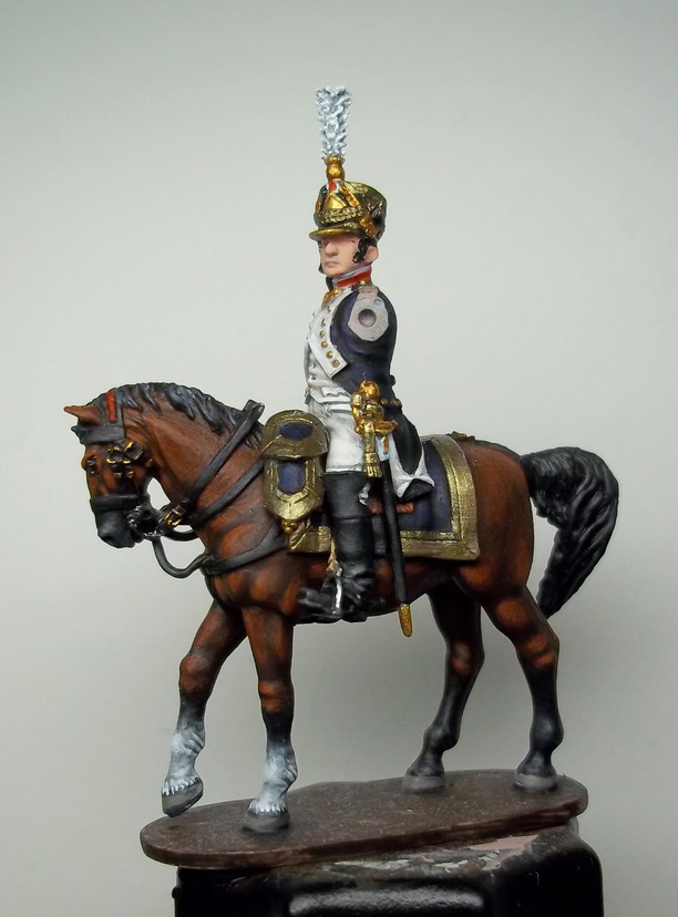 Фигурки: Шеф батальона 4-го полка лин. пехоты. Франция, 1808-13 гг., фото #17