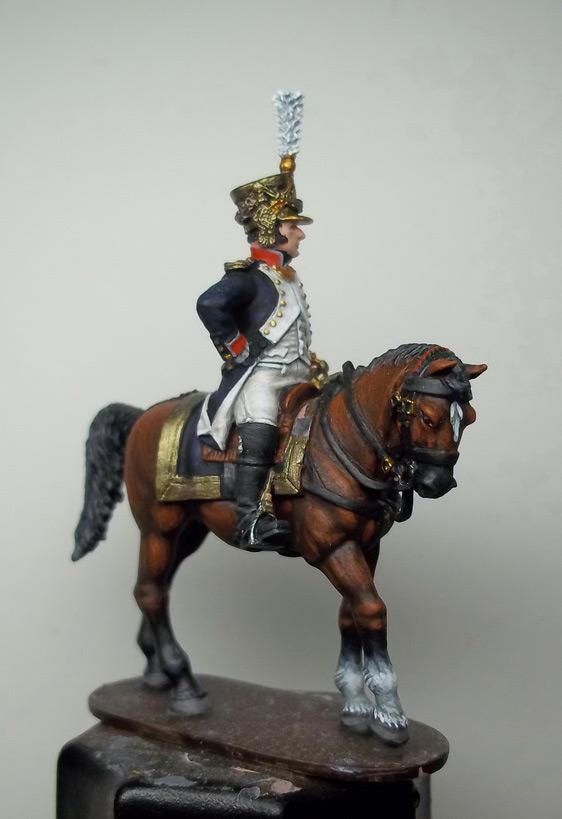 Фигурки: Шеф батальона 4-го полка лин. пехоты. Франция, 1808-13 гг., фото #18