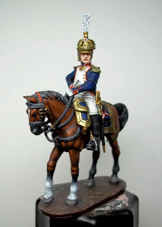 Фигурки: Шеф батальона 4-го полка лин. пехоты. Франция, 1808-13 гг., фото #21