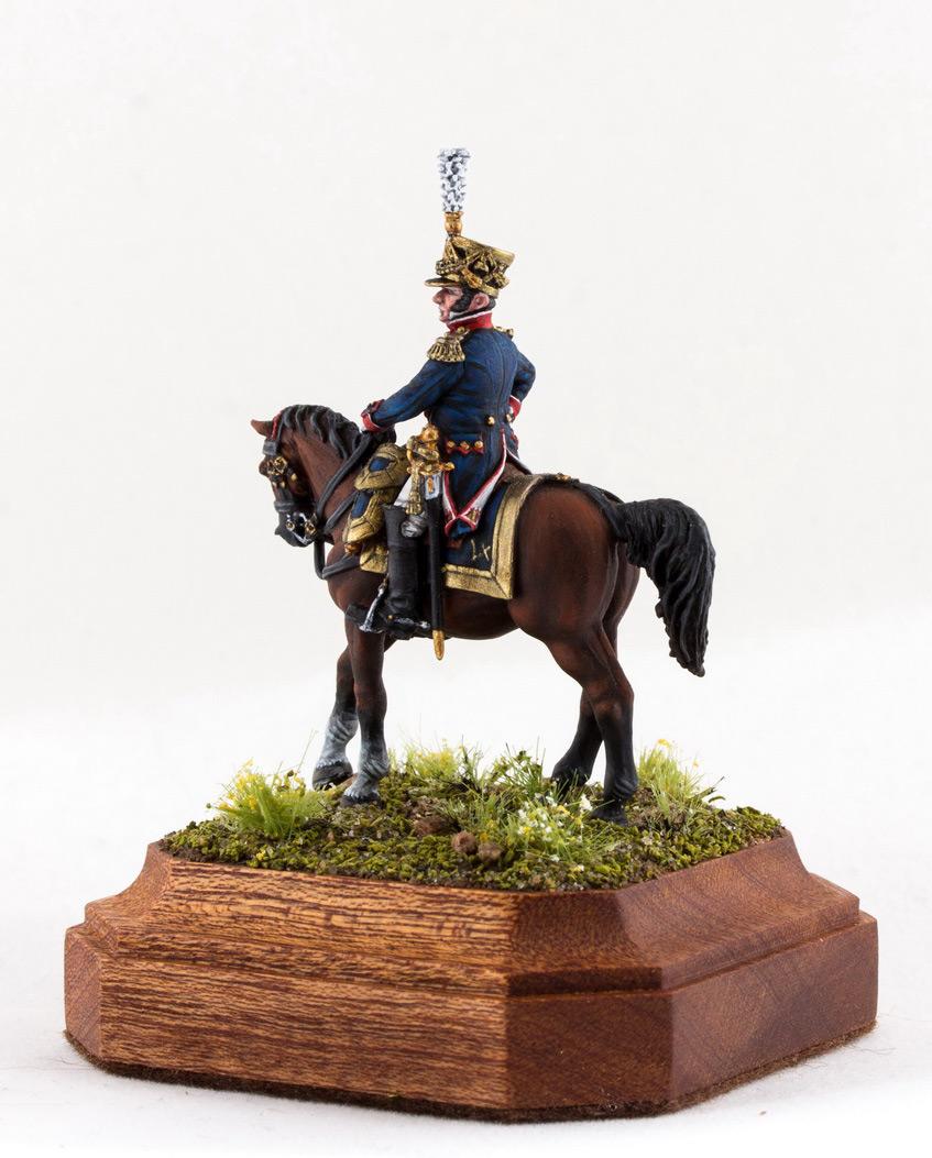 Фигурки: Шеф батальона 4-го полка лин. пехоты. Франция, 1808-13 гг., фото #3