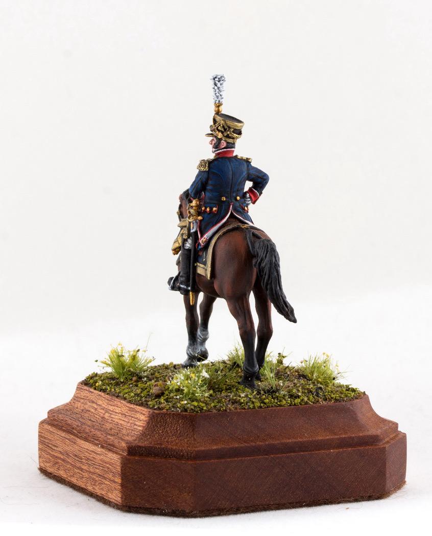 Фигурки: Шеф батальона 4-го полка лин. пехоты. Франция, 1808-13 гг., фото #4